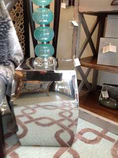 polished accent table